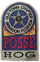OTC Tombstone Posse Patch